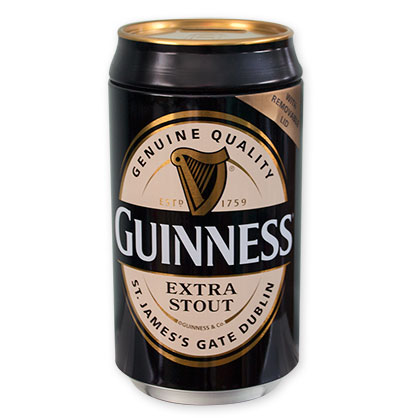 Guinness Extra Stout Beer Can Coin Bank