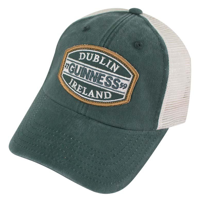 Guinness Dublin Ireland Mesh Green Mens Trucker Hat ac3e98964b8
