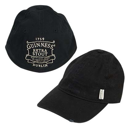 Guinness Extra Stout Black Baseball Hat