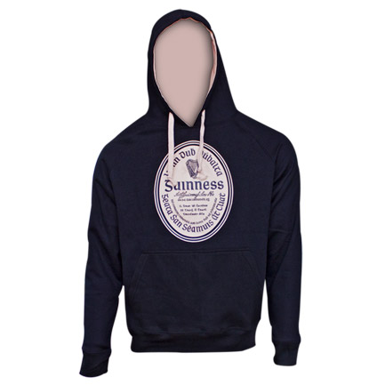 Guinness Label Pullover Hoodie