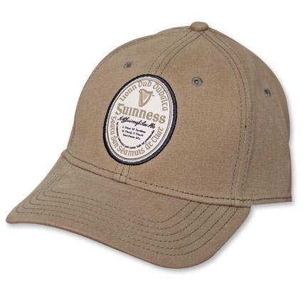 Guinness Olive Green Gaelic Cap