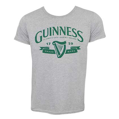 Guinness Grey Tee Shirt