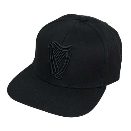 Guinness Black Flat Brim Hat
