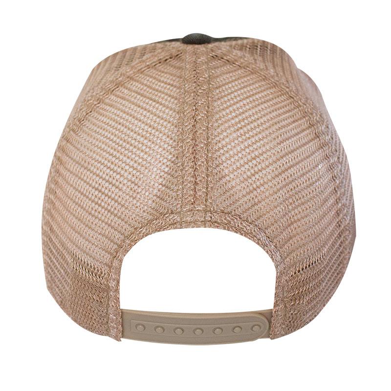 Guinness Brown Harp Logo Mesh Trucker Hat