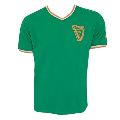 Guinness Soccer Jersey Green Tee Shirt