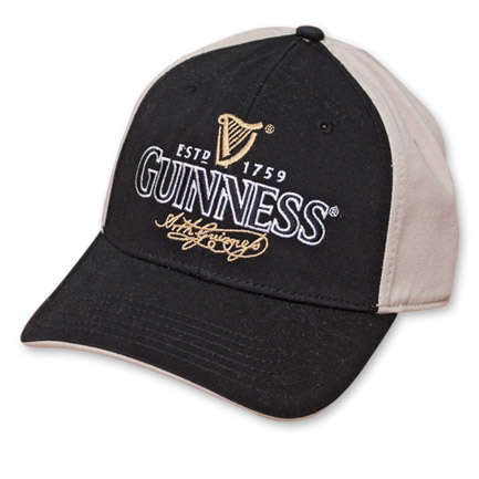 Guinness Beer Black and Cream Cap