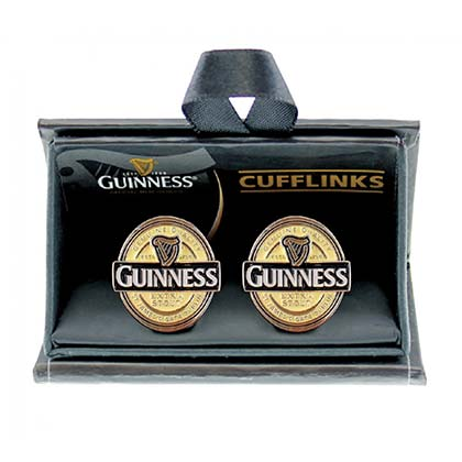 Guinness Label Men's Cufflinks Pair