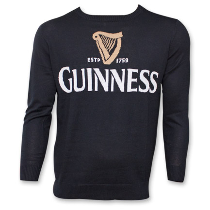 Guinness Harp Logo Sweater