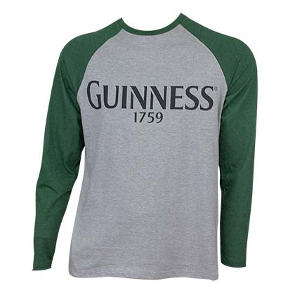 Guinness Baseball Tee Shirt