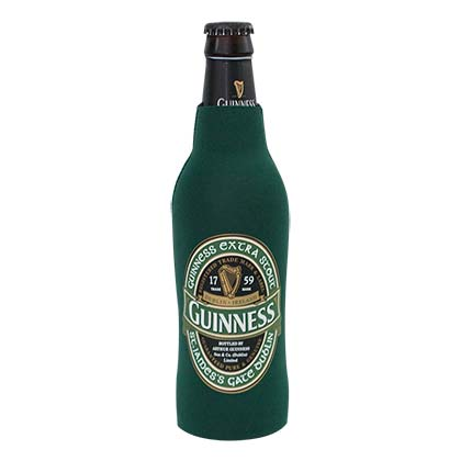 Guinness Round Logo Ireland Bottle Koozie