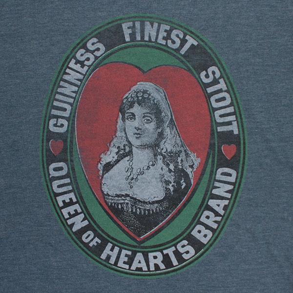 Guinness Brewery Finest Stout Blue Tee Shirt
