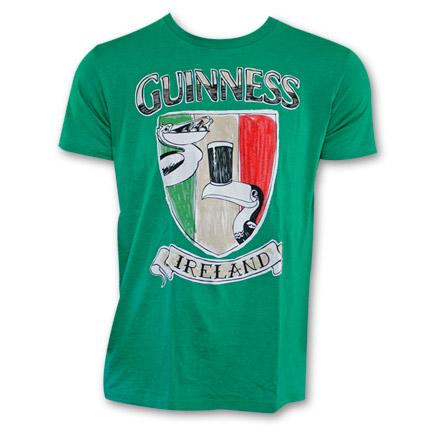 Guinness Crest Shield Shirt - Green