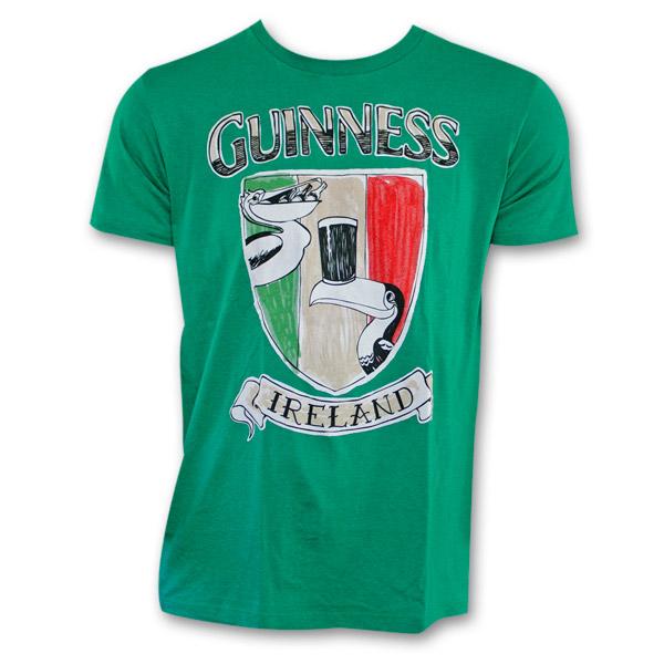 faa5c2c84 Guinness Crest Shield Shirt - Green