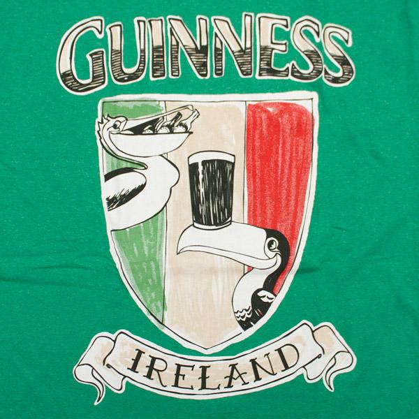 Guinness Crest Shield T-Shirt - Green