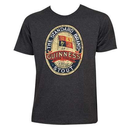 Guinness Standard Brand Stout Emblem Logo Tshirt