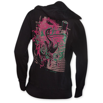 Guinness Women's Black Toucan Hoodie