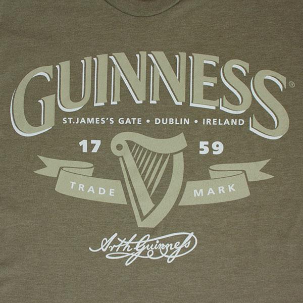 Guinness Men's Trademark Logo T-Shirt