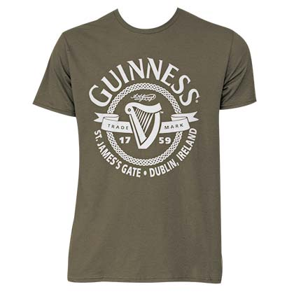 Guinness Men's Green St James Gate T-Shirt