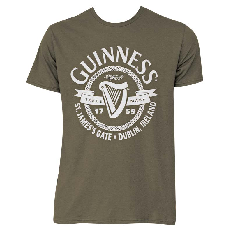Guinness Men's Green St James Gate T-Shirt
