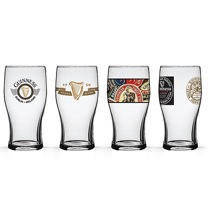 Guinness Tulip Glasses Set