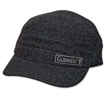 Guinness Cadet Tweed Plaid Hat