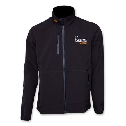 Guinness Zippered Softshell Performance Jacket