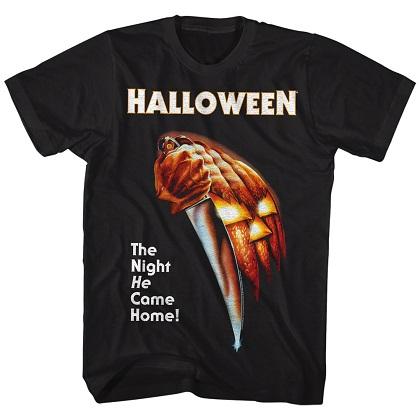 Halloween The Night He Came Home Black Tshirt