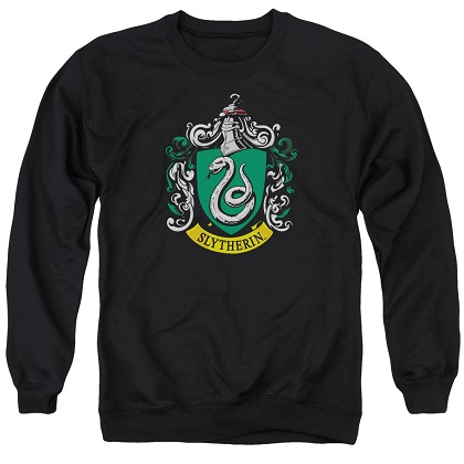 Harry Potter Slytherin Crest Crewneck Sweatshirt