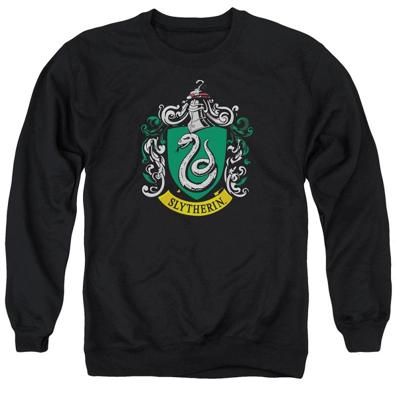 Harry Potter Slytherin Crest Crewneck Sweatshirt