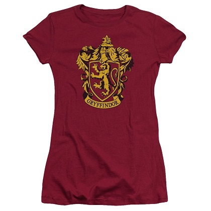 Harry Potter Gryffindor Crest Womens Tshirt