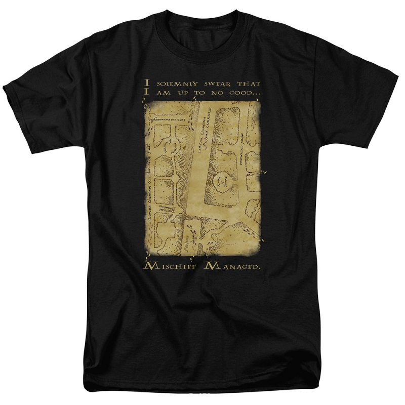 Harry Potter Marauder's Map Tshirt
