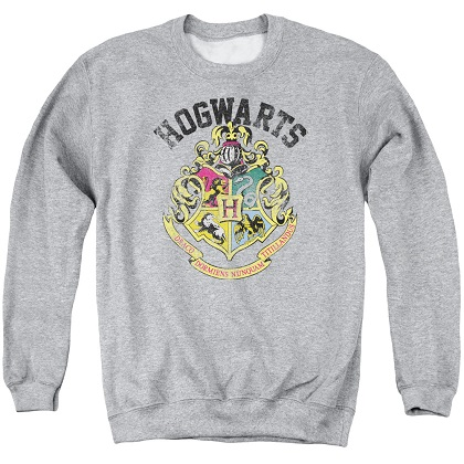 Harry Potter Hogwarts Crest Crewneck Sweatshirt