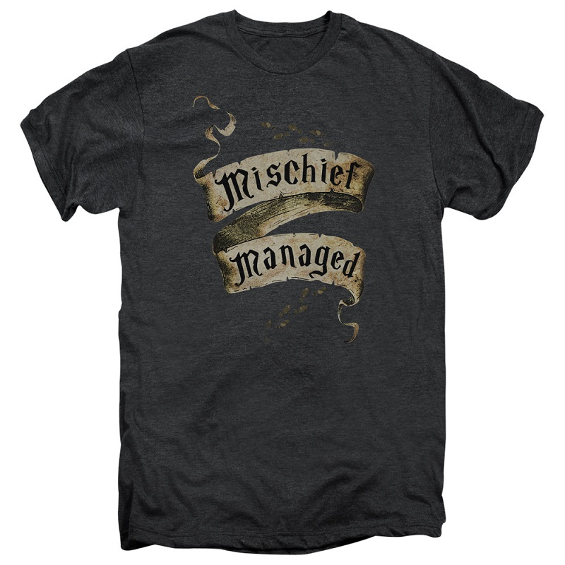 Harry Potter Mischief Managed Banner Tshirt