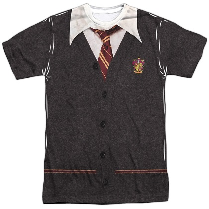 Harry Potter Gryffindor Uniform Costume Tshirt