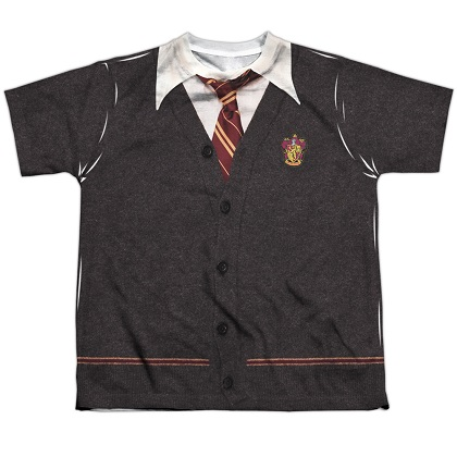 Harry Potter Gryffindor Uniform Youth Costume Tshirt