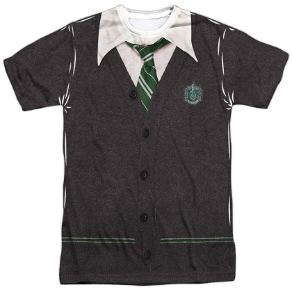 Harry Potter Slytherin Uniform Costume Tshirt