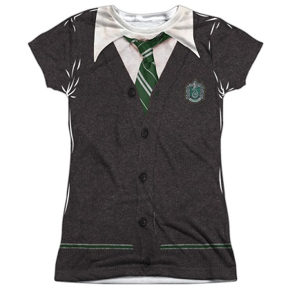 Harry Potter Slytherin Uniform Womens Costume Tshirt