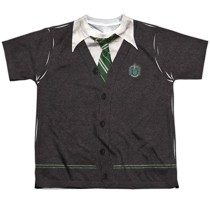 Harry Potter Slytherin Uniform Youth Costume Tshirt
