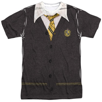 Harry Potter Hufflepuff Uniform Costume Tshirt