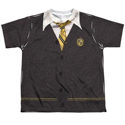 Harry Potter Hufflepuff Uniform Youth Costume Tshirt