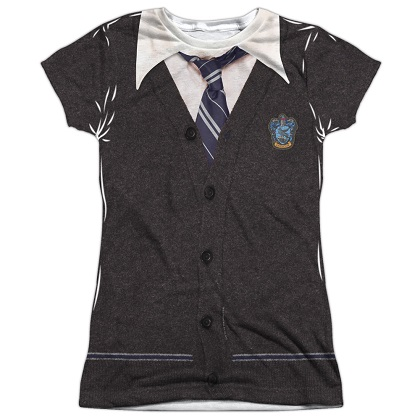 Harry Potter Ravenclaw Uniform Womens Costume Tshirt