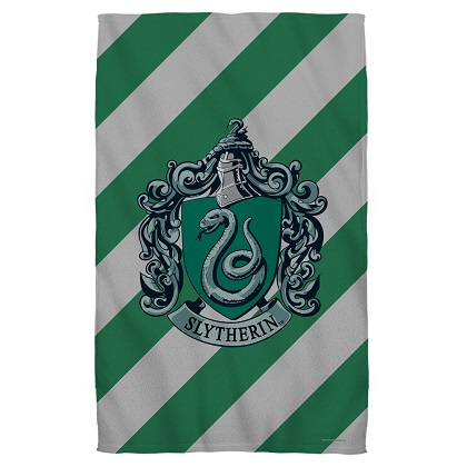 Harry Potter Slytherin Beach Towel