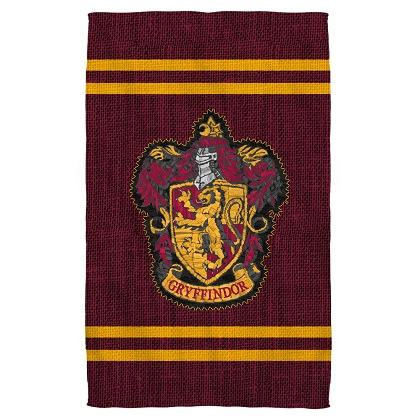 Harry Potter Gryffindor Crest Beach Towel