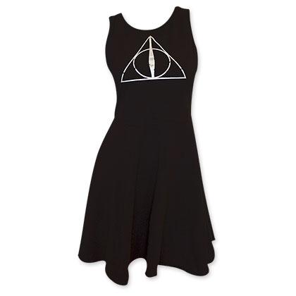 Harry Potter Women's Deathly Hallows Dress