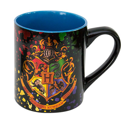 Harry Potter Foil Hogwarts Crest Coffee Mug