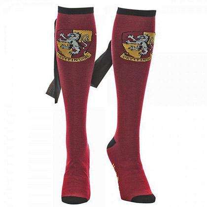 Harry Potter Gryffindor Red Knee High Cape Socks