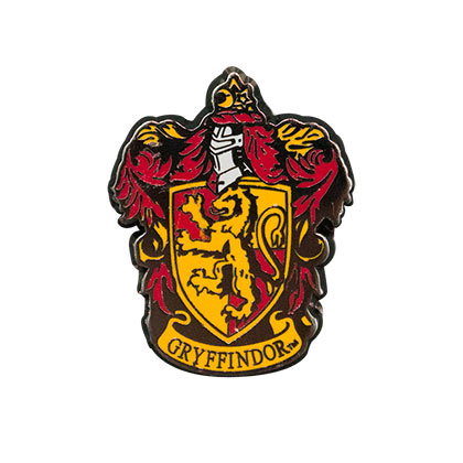 Harry Potter Gryffindor Logo Lapel Pin