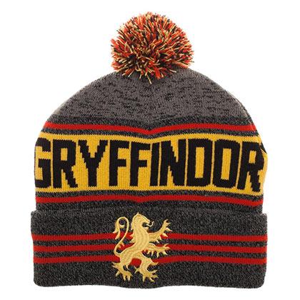 Harry Potter Gryffindor Logo Winter Pom Beanie