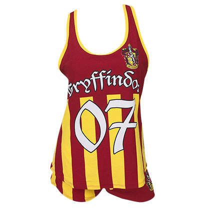Harry Potter Women's Gryffindor Quidditch Seeker Varsity Pajamas