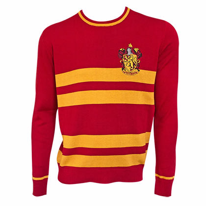 Harry Potter Red Jacquard Gryffindor Sweater